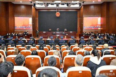 孙小果出狱后组织、领导黑社会性质组织等犯罪一案公开