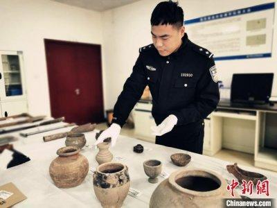 郑州警方破获韩王陵、宋陵等古墓被盗系列案