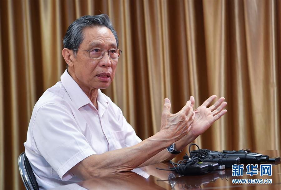 严格防控是关键――钟南山谈香港疫情防控形势