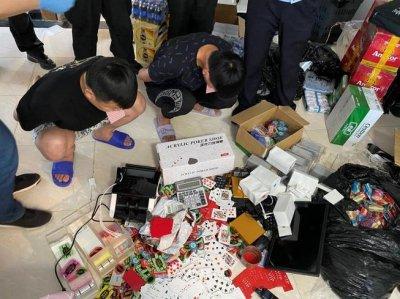 苏南地下赌场调查:苏州警方搜查赌场控制18名嫌疑人