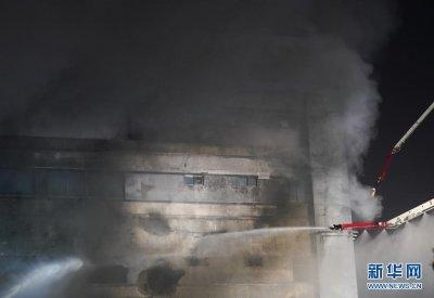 上海金山区一企业厂房火灾致8人亡含2名消防员